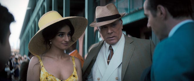 """""""Hollywood Dick"""" Moltisanti (Ray Liotta) brings home a new wife from Italy, Giuseppina (played by Michela De Rossi), in """"The Many Saints of Newark."""""""