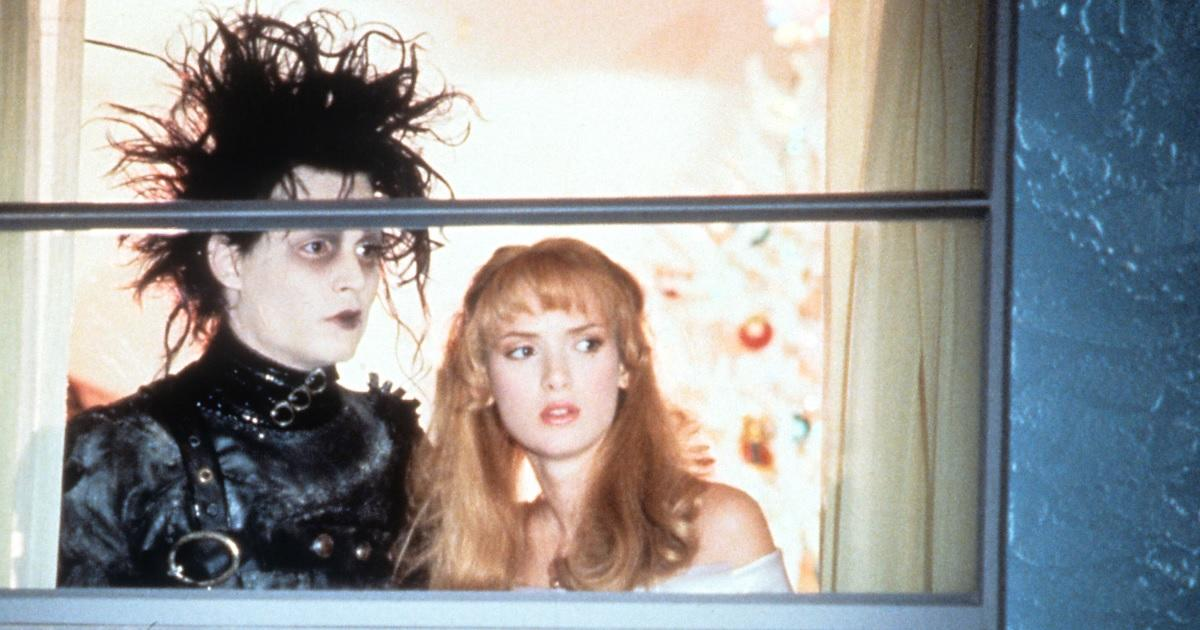 Now You Can Visit the Newly Renovated 'Edward Scissorhands' House.