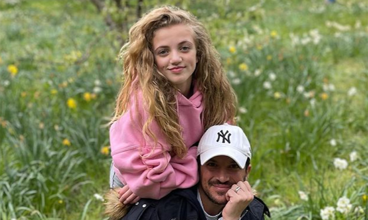 As She Watches His Gig From Backstage Peter Andre's Daughter Princess Says She's 'So so proud' Of Him.